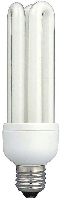 Úsporná žárovka 230V/30W E27 3xU,denní bílá