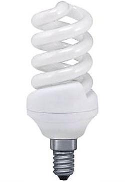 Úsporná žárovka 230V/15W E14 spirála,teplá bílá, DOPRODEJ
