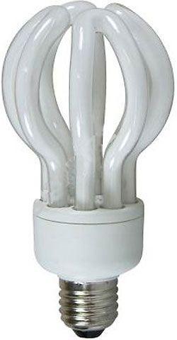 Úsporná žárovka 230V/26W E27 Lotus, teplá bílá, DOPRODEJ