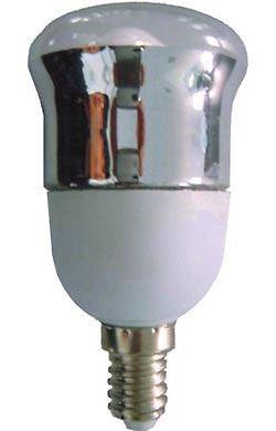 Úsporná žárovka 230V/7W E14 reflektorová 50mm, teplá bílá DOPRODEJ