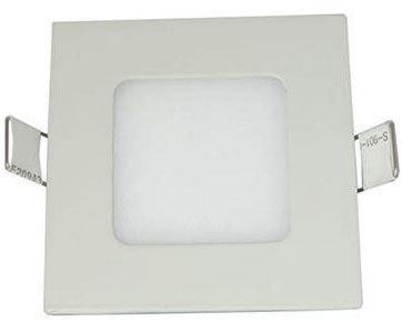 Podhledové světlo LED 3W, 105x105mm, teplé bílé, 230V/3W, vestavné