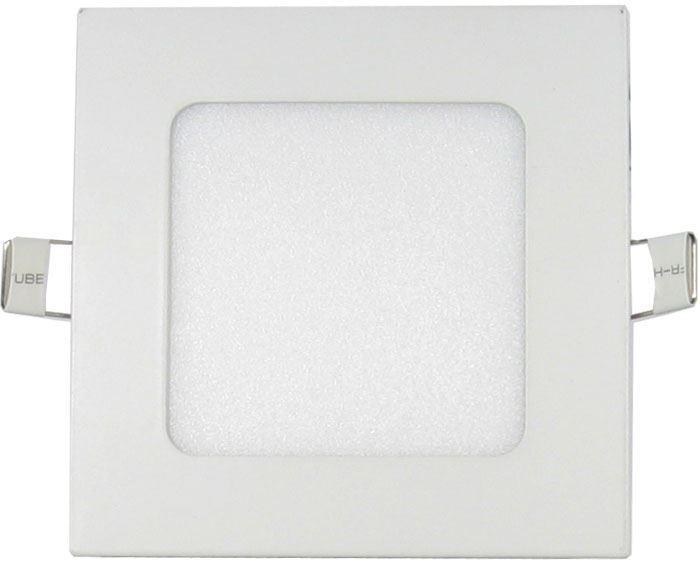 Podhledové světlo LED 6W, 120x120mm, teplé bílé, 230V/6W, vestavné