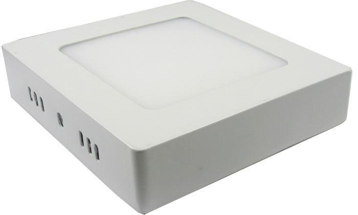 Podhledové světlo LED 6W, 120x120mm, teplé bílé, 230V/6W, přisazené