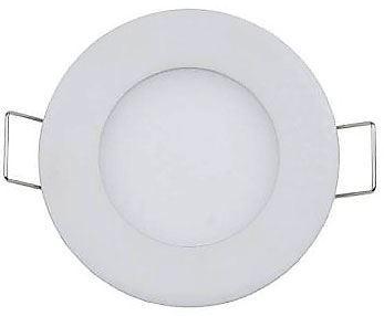 Podhledové světlo LED 3W, 85mm, bílé teplé, 230V/3W, vestavné, vadné