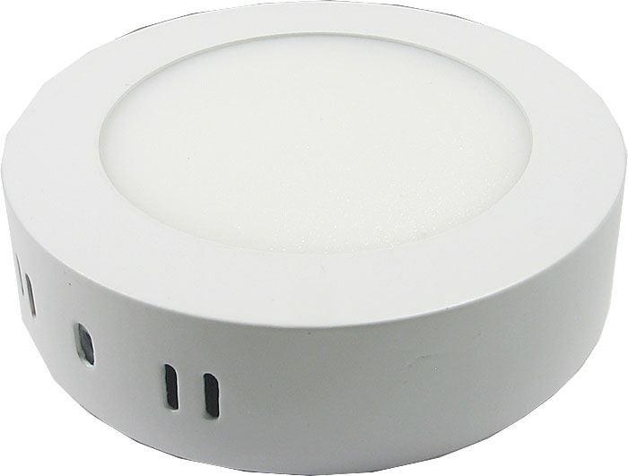 Podhledové světlo LED 6W, 120mm, bílé, 230V/6W, přisazené