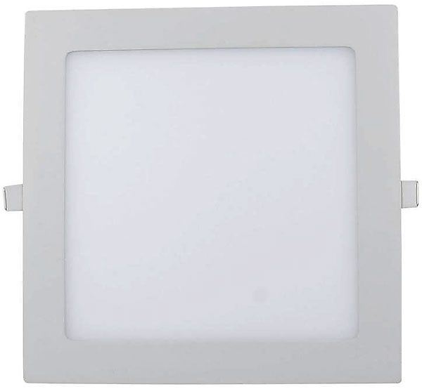 Podhledové světlo LED 15W, 200x200mm, bílé, 230V/15W, vestavné
