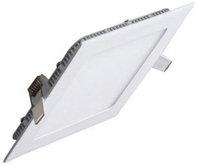 Podhledové světlo LED 24W, 300x300mm, teplé bílé, 230V/24W, vestavné