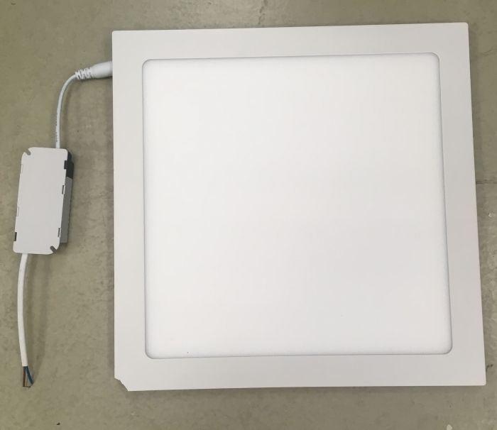 Podhledové světlo LED 24W, 300x300mm, bílé, 230V/24W, poškozené