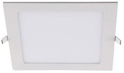 Podhledové světlo LED 12W, 170x170mm, teplé bílé, 230V/12W, vestavné