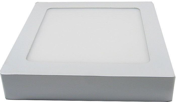 Podhledové světlo LED 12W, 170x170mm, teplé bílé, 230V/12W, přisazené