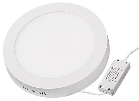 Podhledové světlo LED 24W, 300mm, bílé, 230V/24W, přisazené