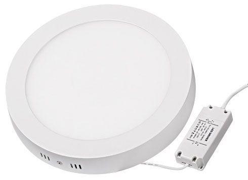 Podhledové světlo LED 24W, 300mm, teplé bílé, 230V/24W, přisazené