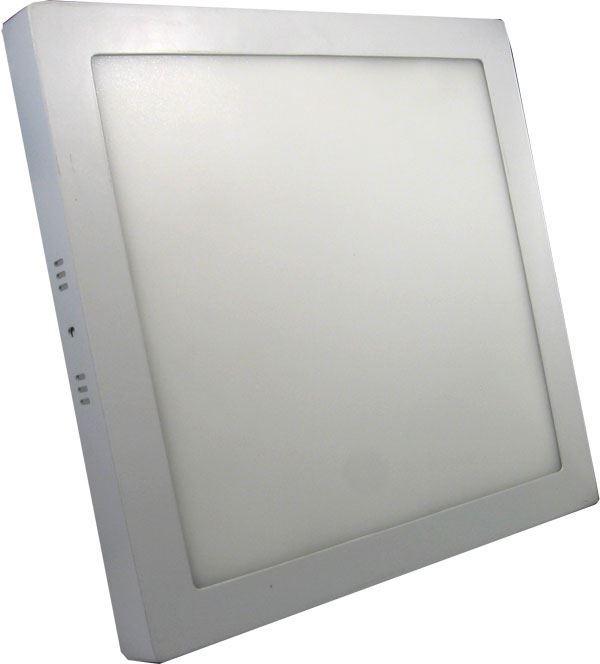 Podhledové světlo LED 24W, 300x300mm, teple bílé, 230V/24W, přisazené