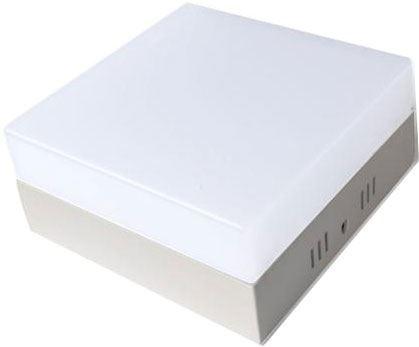 Podhledové světlo LED 12W, 120x120mm, teplé bílé, 230V/12W, přisazené