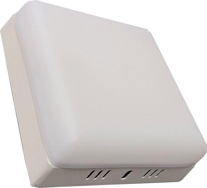 Podhledové světlo LED 12W, 125x125mm, bílé, 230V/18W, přisazené