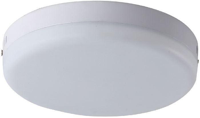 Podhledové světlo LED 18W, průměr 125mm, denní bílá, 230V/18W, přisaze