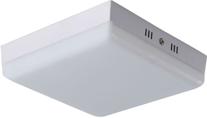 Podhledové světlo LED 32W, 225x225mm, teplá bílá, 230V/32W, přisazené
