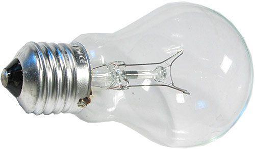 Žárovka čirá 230V/60W E27 pro průmyslové použití