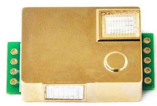 Detektor oxidu uhličitého, modul MH-Z19