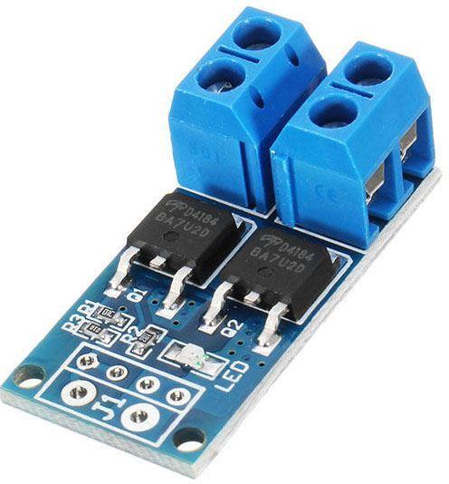 Výkonový spínač MOSFET PWM 15A 400W, modul XY-MOS