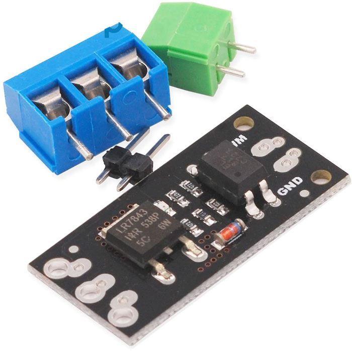 Výkonový spínač MOSFET PWM, modul s LR7843