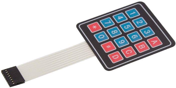 Membránová klávesnice 4x4