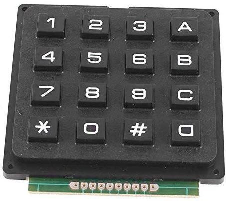 Maticová klávesnice 4x4