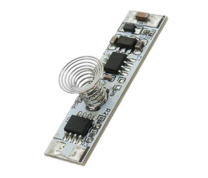 Dotykový spínač se stmívačem pro LED pásky do profilu 10mm