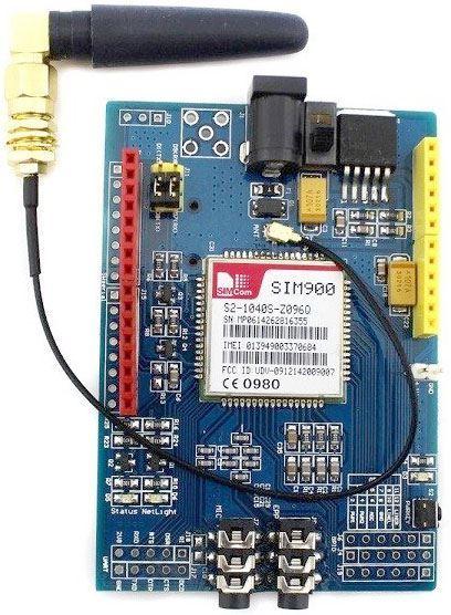 GSM modul - shield SIM900 s anténou pro Arduino
