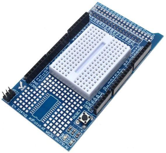 Prototypová deska s kontaktním polem pro MEGA2560 /prototype shield/