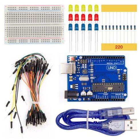 Arduino UNO R3, Basic Kit