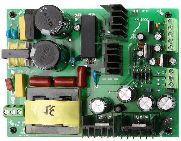 Napájecí zdroj pro nf zesilovače 100-265VAC/±35VDC 500W