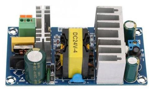 Napájecí zdroj-modul WX-DC2412,100-265VAC/24VDC 4A