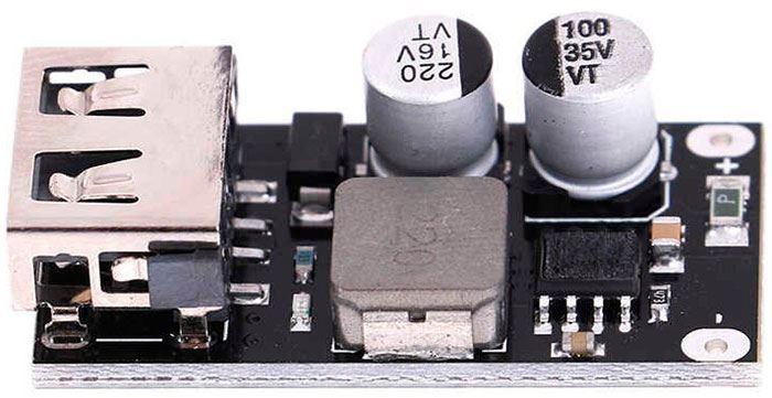 Napájecí modul, step-down měnič 5V/3A, 1xUSB QC3.0