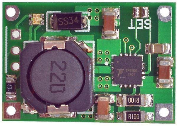 Nabíječka 1-2 Li-Ion článků 2A s ochranou, modul s IO TP5100