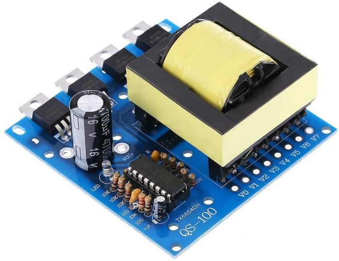 Napájecí modul, step-up měnič 12VDC/18V+160V+220+380VAC