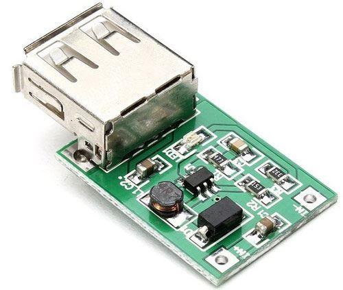 Napájecí modul, step-up měnič 5V/600mA mini