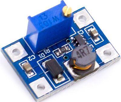 Napájecí modul, step-up měnič 2A s SX1308