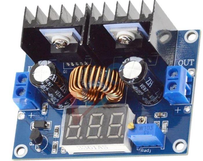 Napájecí modul, step-down měnič 8A, modul XH-M404