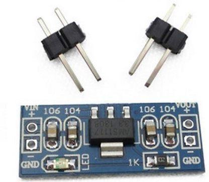 Napájecí modul, stabilizátor 5V s AMS1117