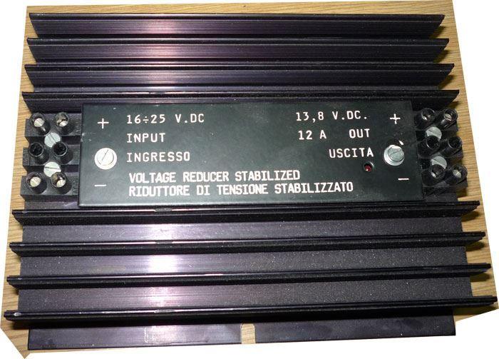 Napájecí modul, stabilizátor 13,8V/12A