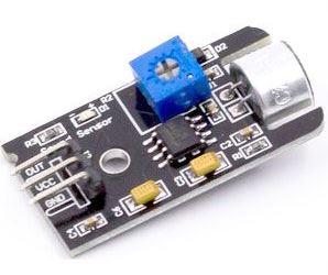Zvukový senzor s vyšší citlivostí-modul s LM393