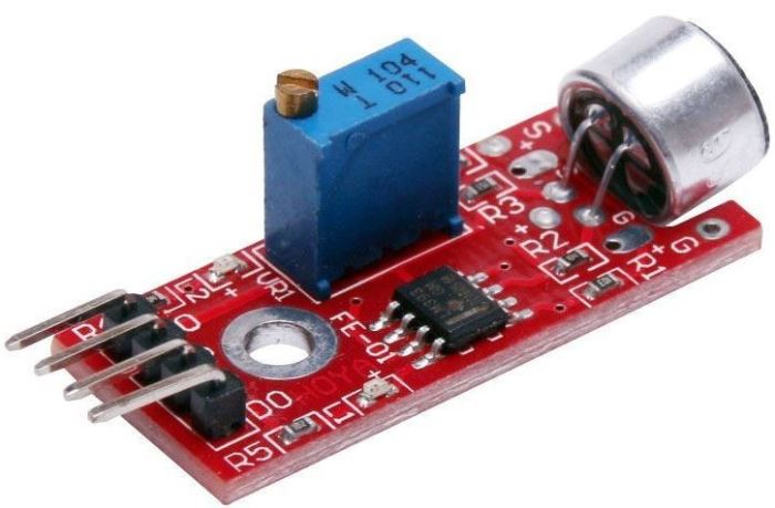Zvukový senzor s analogovým výstupem-modul KY-037