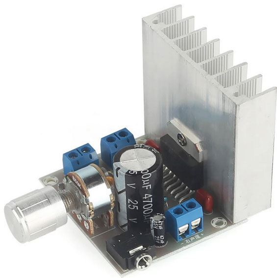 Zesilovač 2x20W s TDA7377, modul