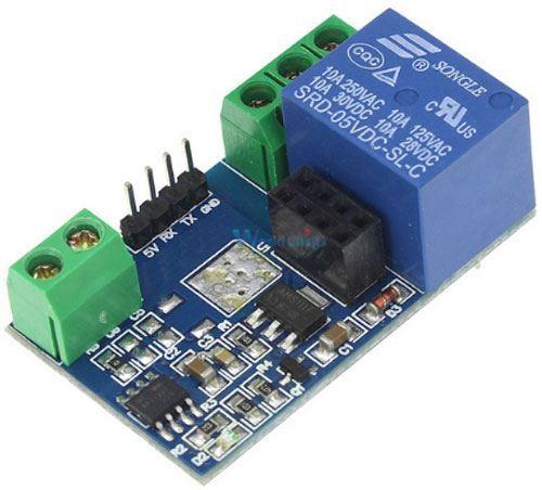 ESP8266 - modul relé pro ESP-01, napájení 5V