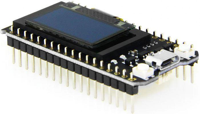 "ESP32 TTGO 0,96""OLED V2.0 vývojová deska 2,4GHz WiFi+Bluetooth"