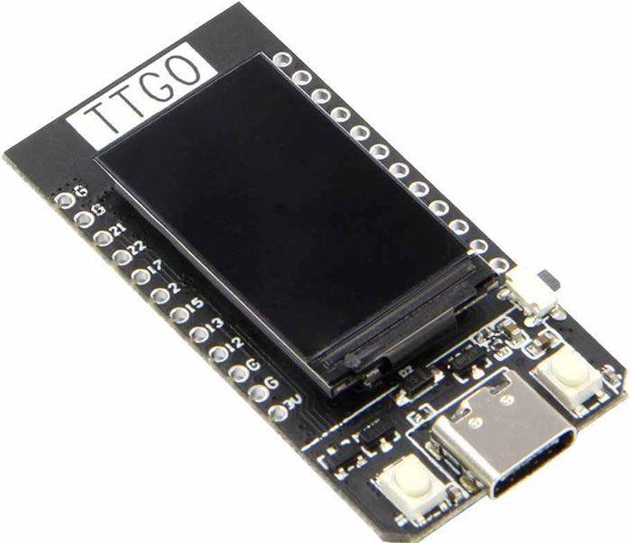 """ESP32 TTGO 1,14"""" LCD vývojová deska 2,4GHz WiFi+Bluetooth"""