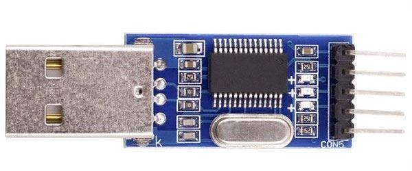 Převodník USB/TTL, modul s PL2303HX
