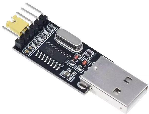 Převodník USB/TTL, modul s CH340