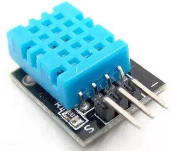Teplotní čidlo a vlhkoměr DHT11, modul